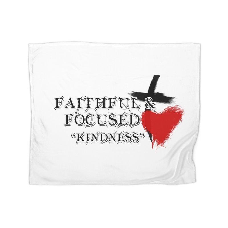 FAITHFUL HEART Home Blanket by Faithful & Focused Store