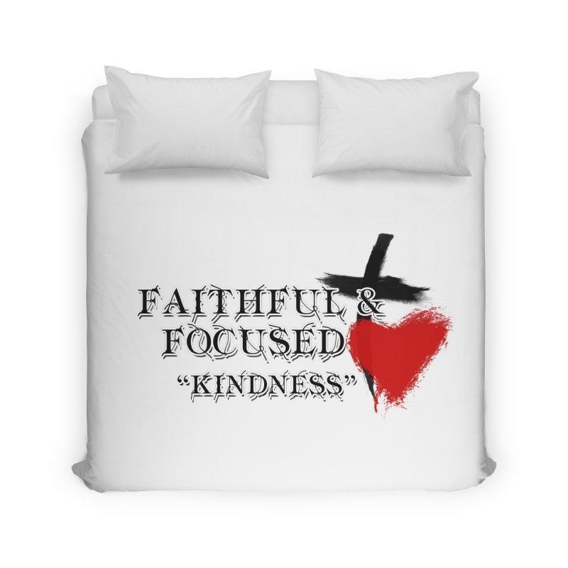 FAITHFUL HEART Home Duvet by Faithful & Focused Store