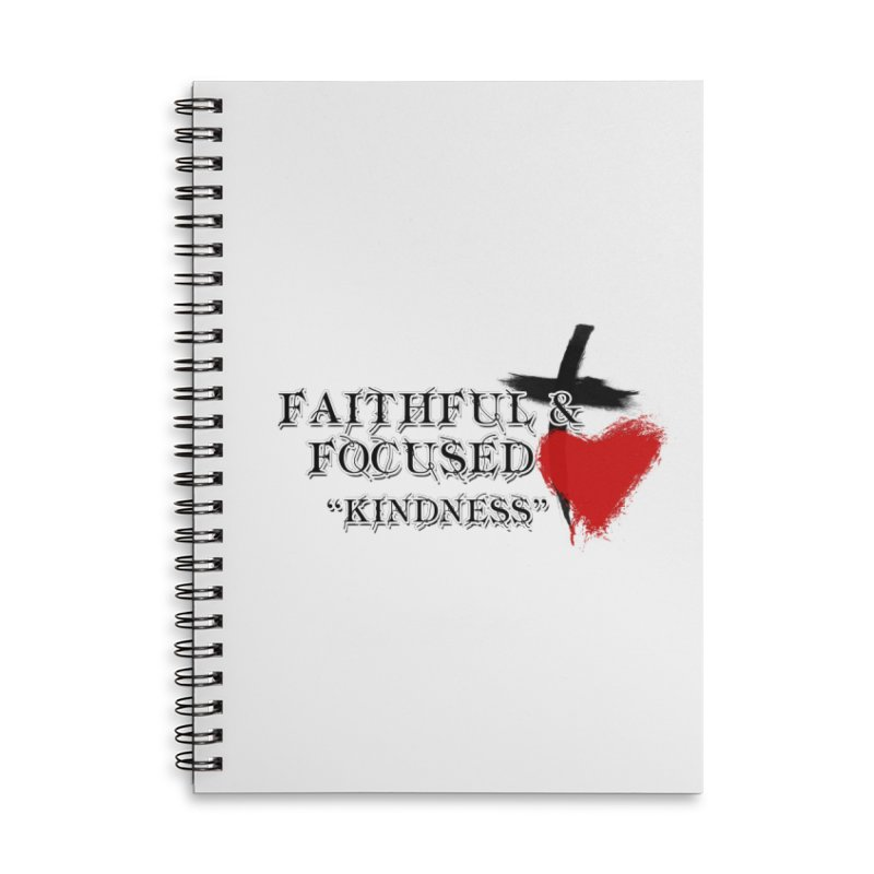 FAITHFUL HEART Accessories Notebook by Faithful & Focused Store