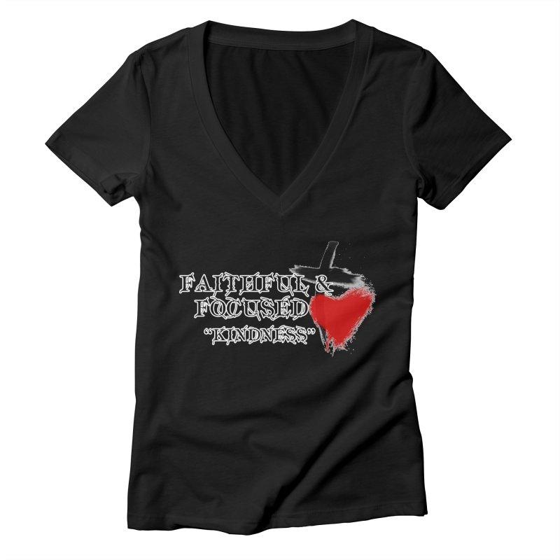 FAITHFUL HEART Women's V-Neck by Faithful & Focused Store
