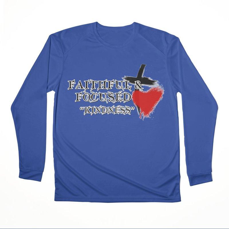 FAITHFUL HEART Men's Longsleeve T-Shirt by Faithful & Focused Store