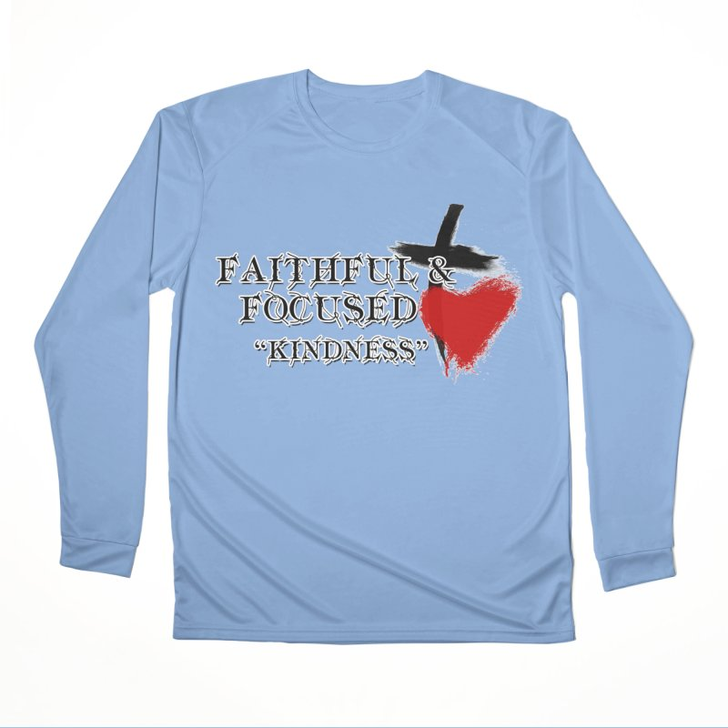 FAITHFUL HEART Men's Longsleeve T-Shirt by Faithful & Focused Store