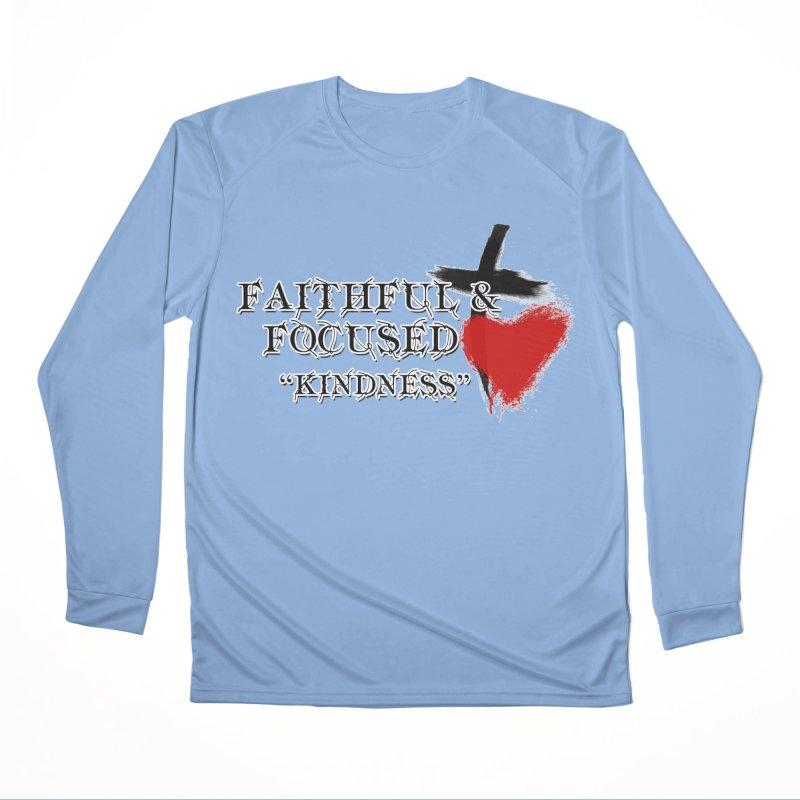FAITHFUL HEART Women's Longsleeve T-Shirt by Faithful & Focused Store