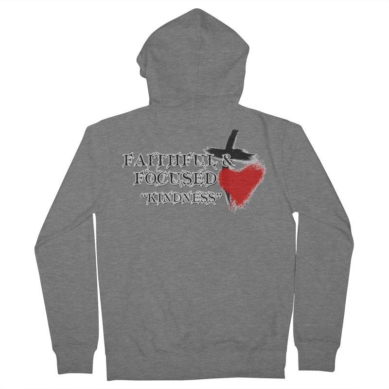 FAITHFUL HEART Women's Zip-Up Hoody by Faithful & Focused Store