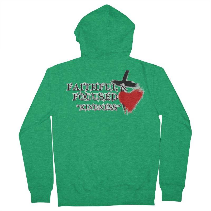 FAITHFUL HEART Men's Zip-Up Hoody by Faithful & Focused Store