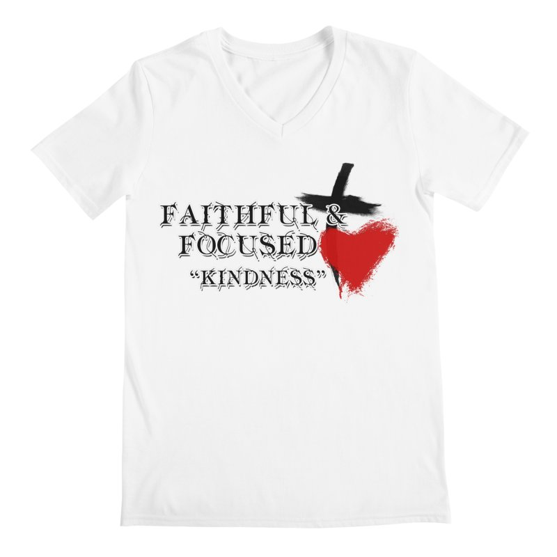 FAITHFUL HEART Men's V-Neck by Faithful & Focused Store
