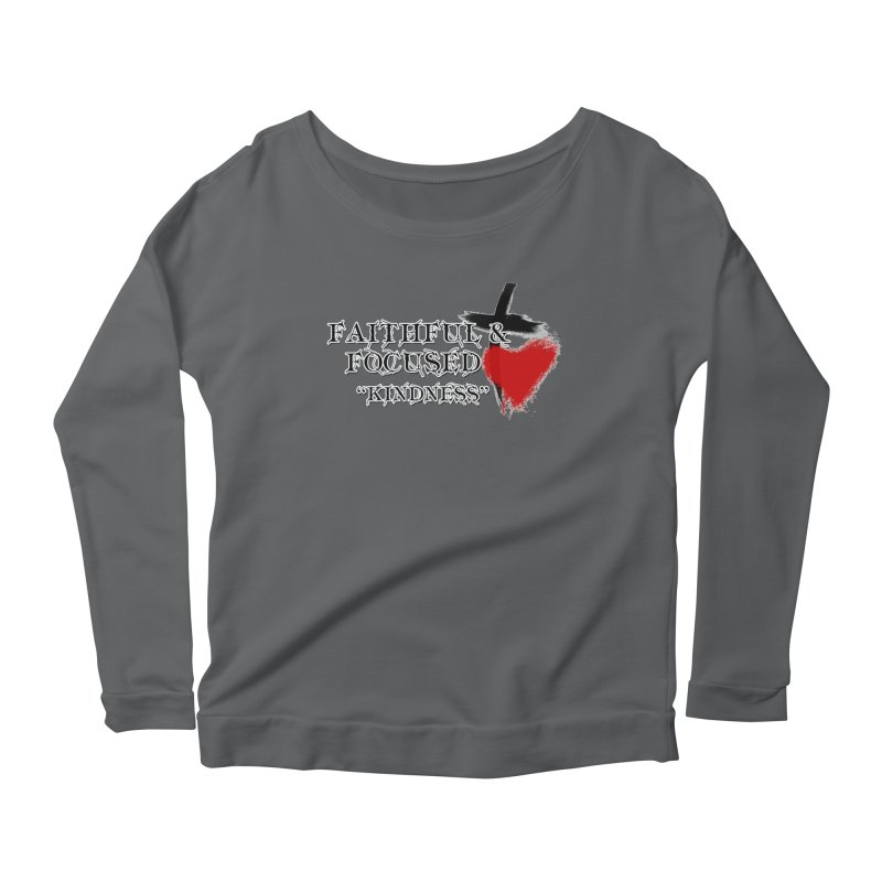 FAITHFUL HEART Women's Longsleeve T-Shirt by Faithful & Focused Store