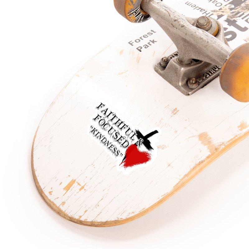FAITHFUL HEART Accessories Sticker by Faithful & Focused Store