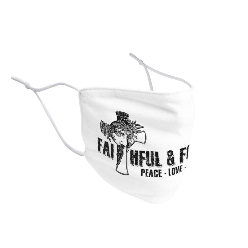 He Reigns Faithful&Focused Accessories Face Mask by Faithful & Focused Store