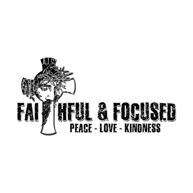 He Reigns Faithful&Focused Women's V-Neck by Faithful & Focused Store