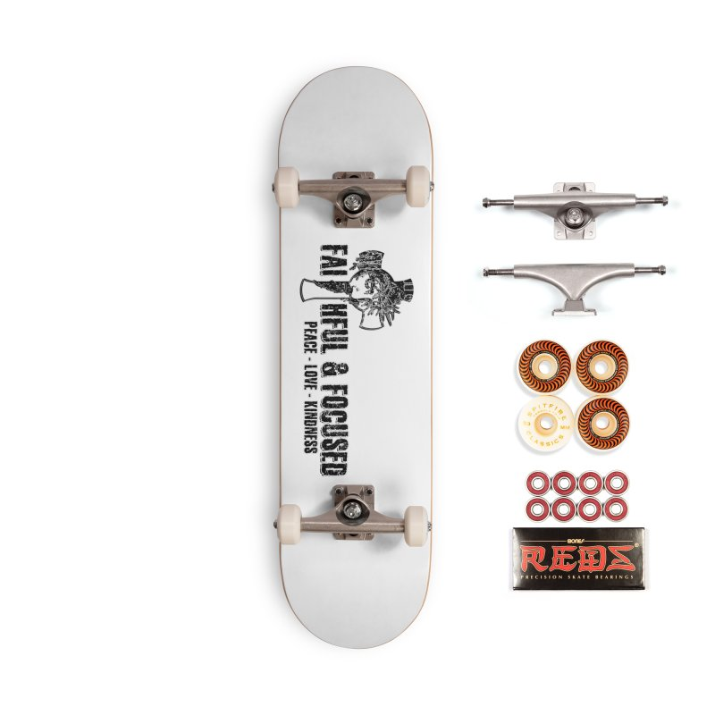 He Reigns Faithful&Focused Accessories Skateboard by Faithful & Focused Store