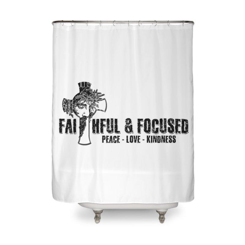 He Reigns Faithful&Focused Home Shower Curtain by Faithful & Focused Store