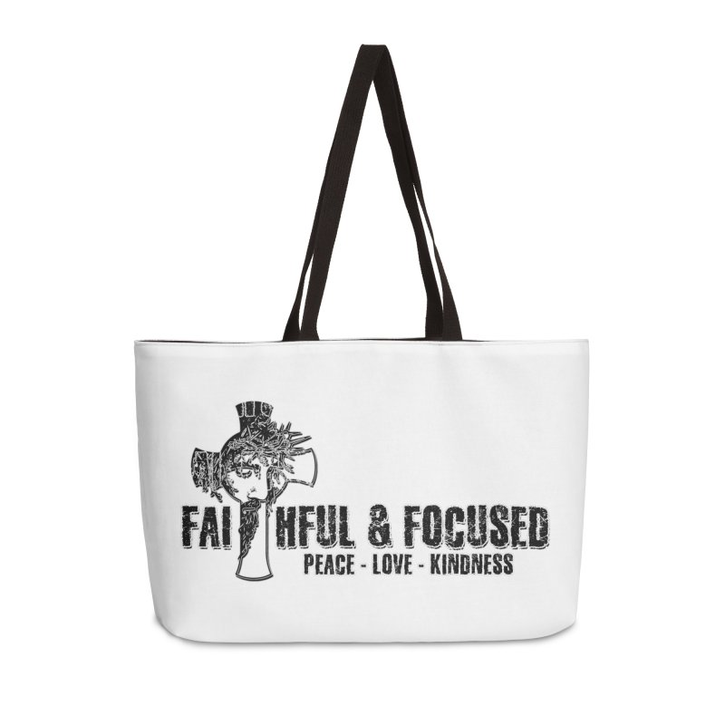 He Reigns Faithful&Focused Accessories Bag by Faithful & Focused Store