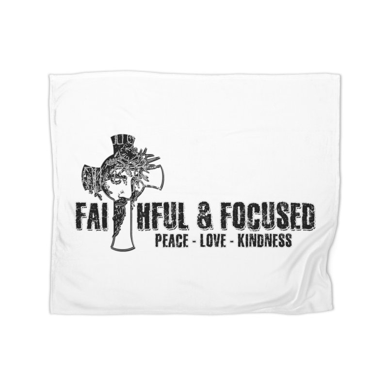 He Reigns Faithful&Focused Home Blanket by Faithful & Focused Store