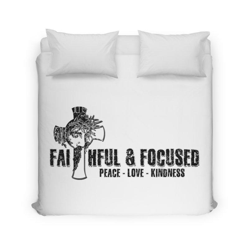 He Reigns Faithful&Focused Home Duvet by Faithful & Focused Store