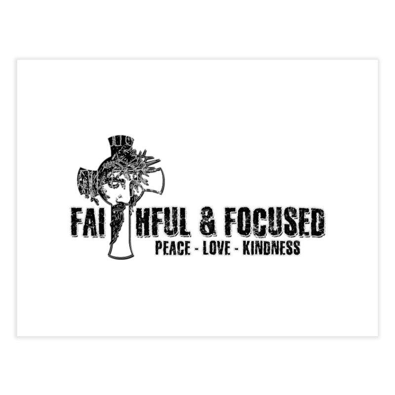 He Reigns Faithful&Focused Home Fine Art Print by Faithful & Focused Store