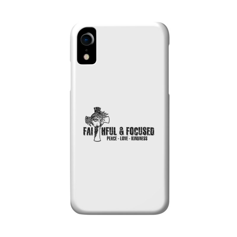 He Reigns Faithful&Focused Accessories Phone Case by Faithful & Focused Store