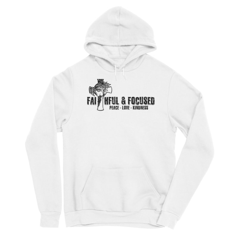 He Reigns Faithful&Focused Men's Pullover Hoody by Faithful & Focused Store