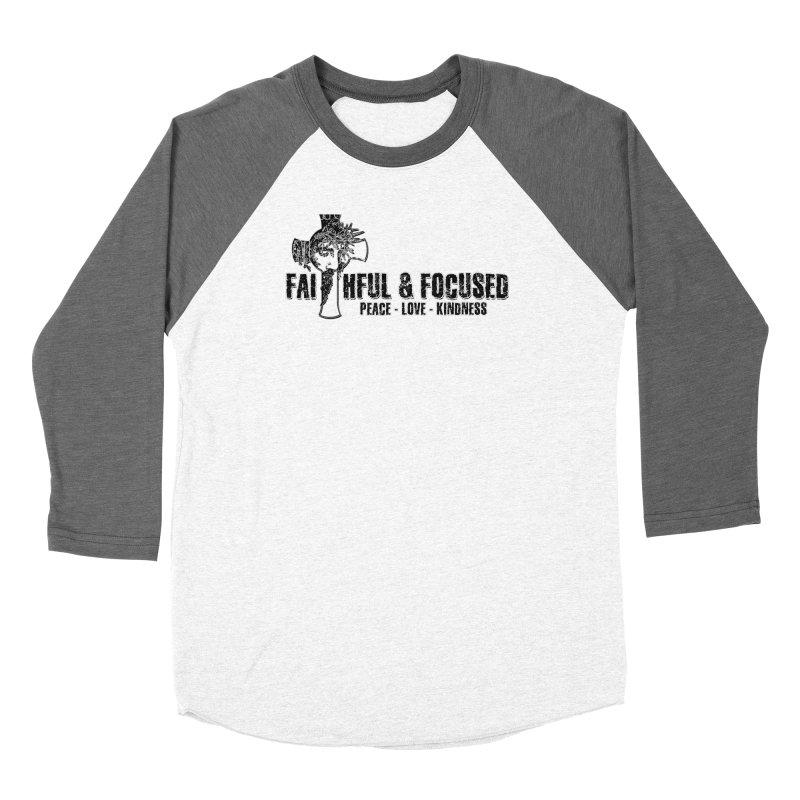 He Reigns Faithful&Focused Women's Longsleeve T-Shirt by Faithful & Focused Store