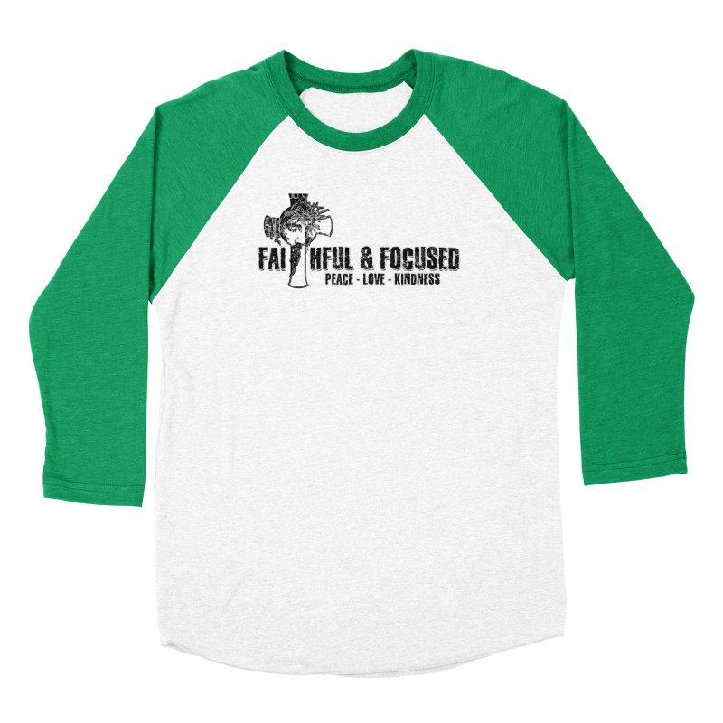 He Reigns Faithful&Focused Men's Longsleeve T-Shirt by Faithful & Focused Store