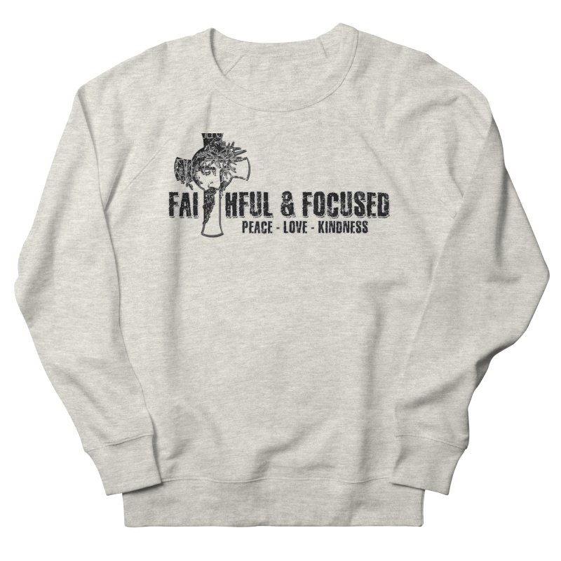 He Reigns Faithful&Focused Men's Sweatshirt by Faithful & Focused Store
