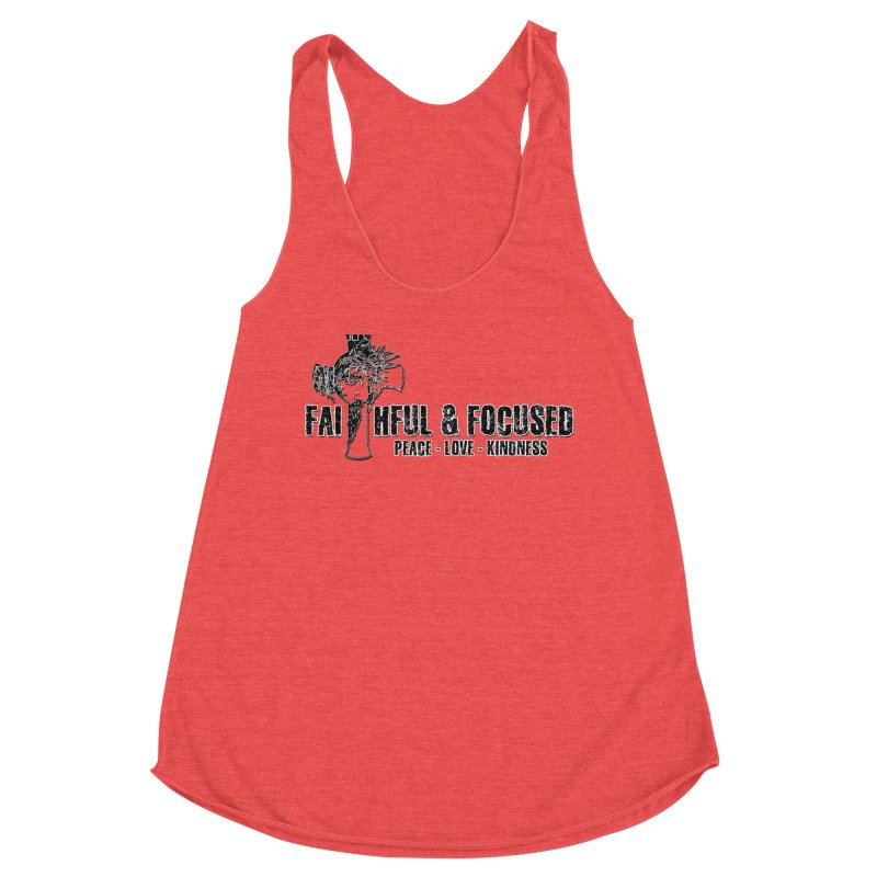 He Reigns Faithful&Focused Women's Tank by Faithful & Focused Store