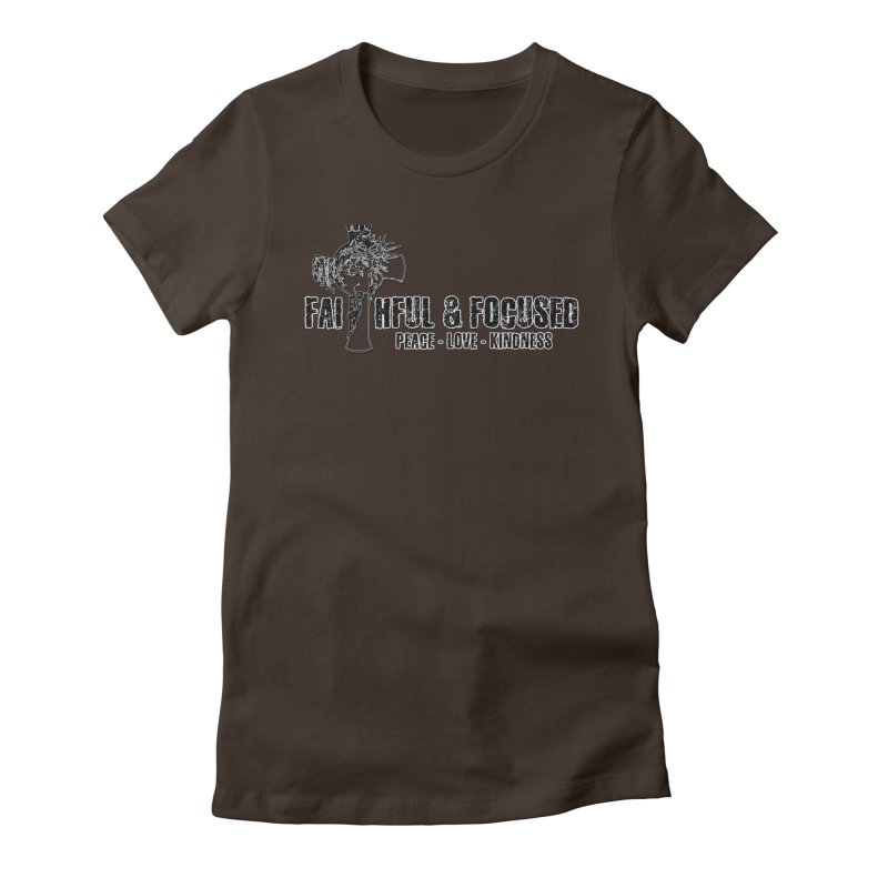 He Reigns Faithful&Focused Women's T-Shirt by Faithful & Focused Store