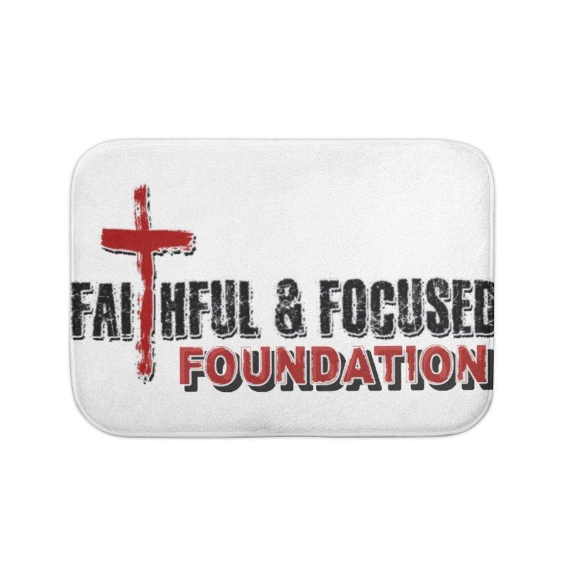 Faithful and Focused Foundation Home Bath Mat by Faithful & Focused Store