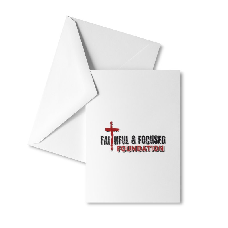 Faithful and Focused Foundation Accessories Greeting Card by Faithful & Focused Store