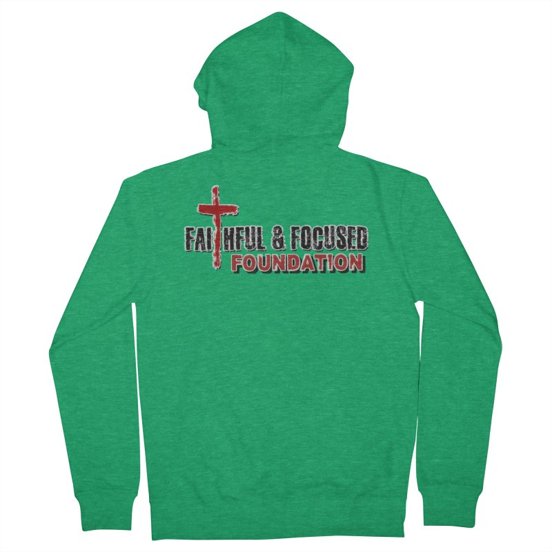 Faithful and Focused Foundation Men's Zip-Up Hoody by Faithful & Focused Store