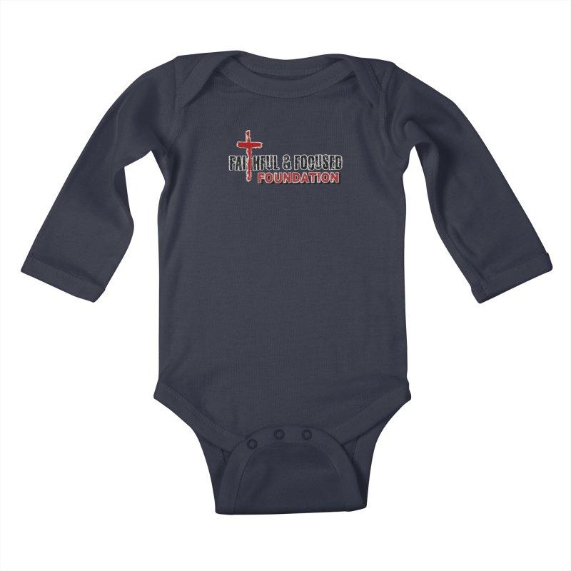 Faithful and Focused Foundation Kids Baby Longsleeve Bodysuit by Faithful & Focused Store