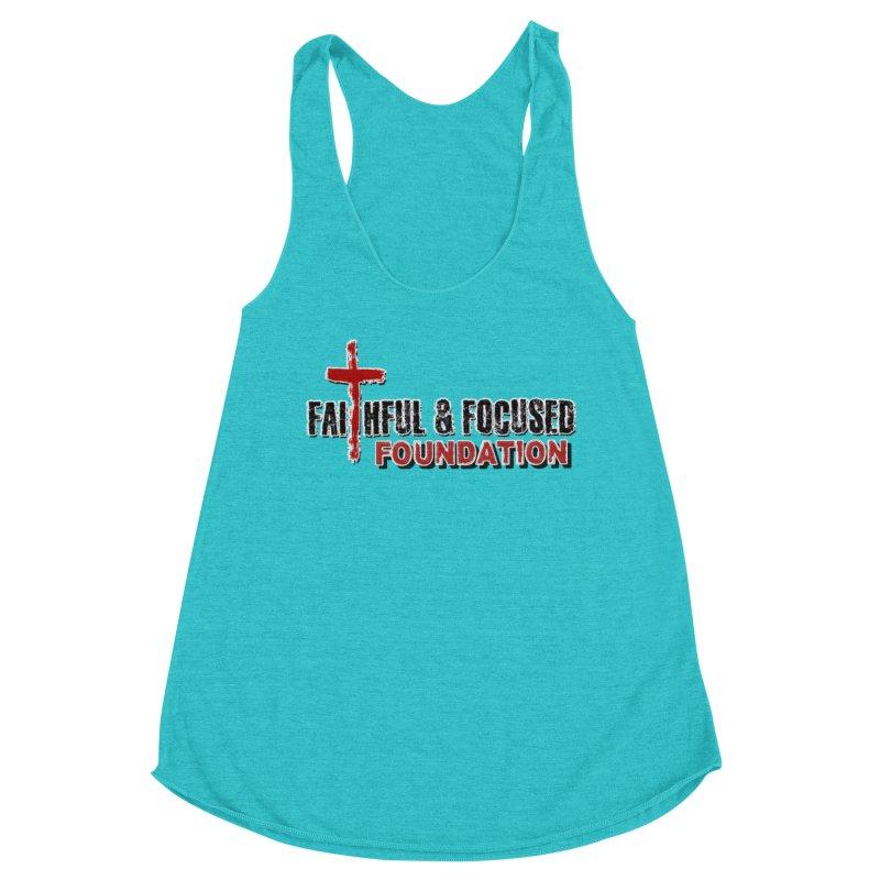 Faithful and Focused Foundation Women's Tank by Faithful & Focused Store