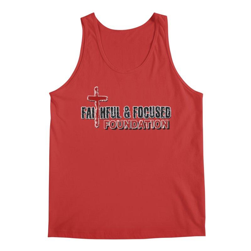 Faithful and Focused Foundation Men's Tank by Faithful & Focused Store