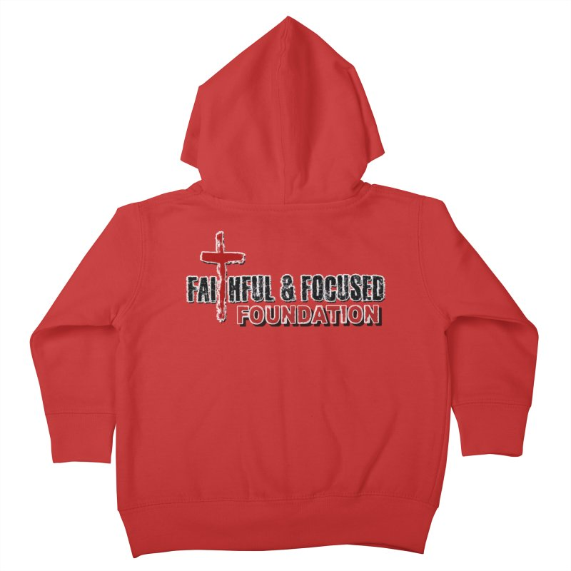Faithful and Focused Foundation Kids Toddler Zip-Up Hoody by Faithful & Focused Store