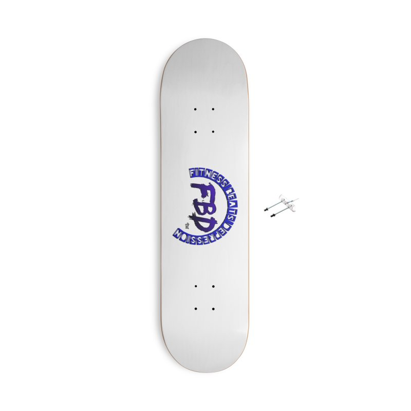 Fitness Beats Depression Accessories Skateboard by Faithful & Focused Store