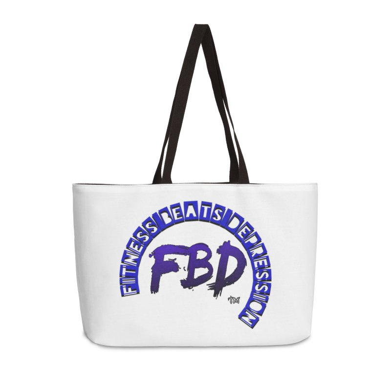 Fitness Beats Depression Accessories Bag by Faithful & Focused Store