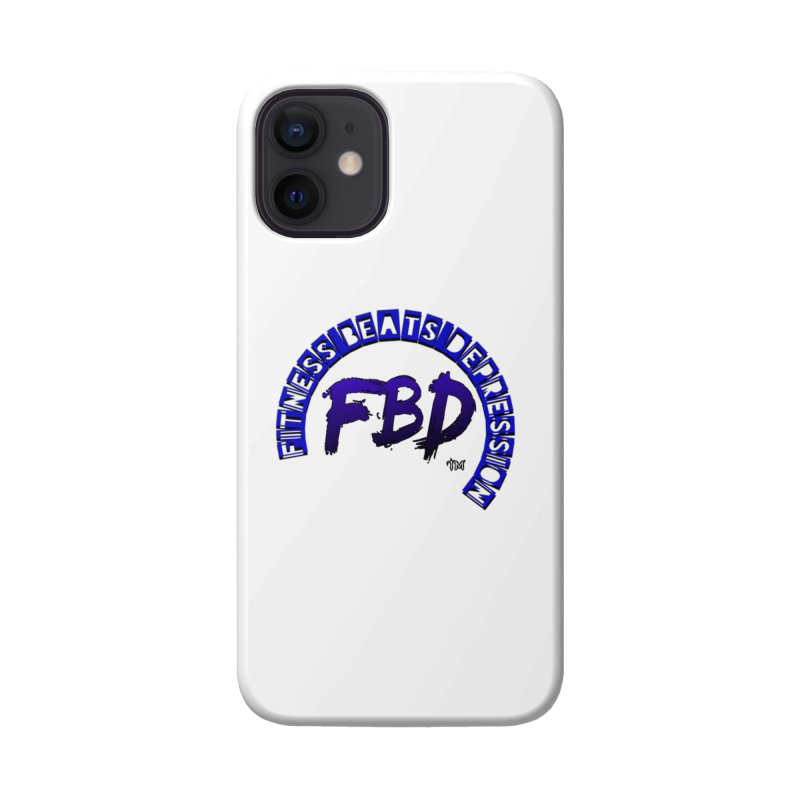 Fitness Beats Depression Accessories Phone Case by Faithful & Focused Store