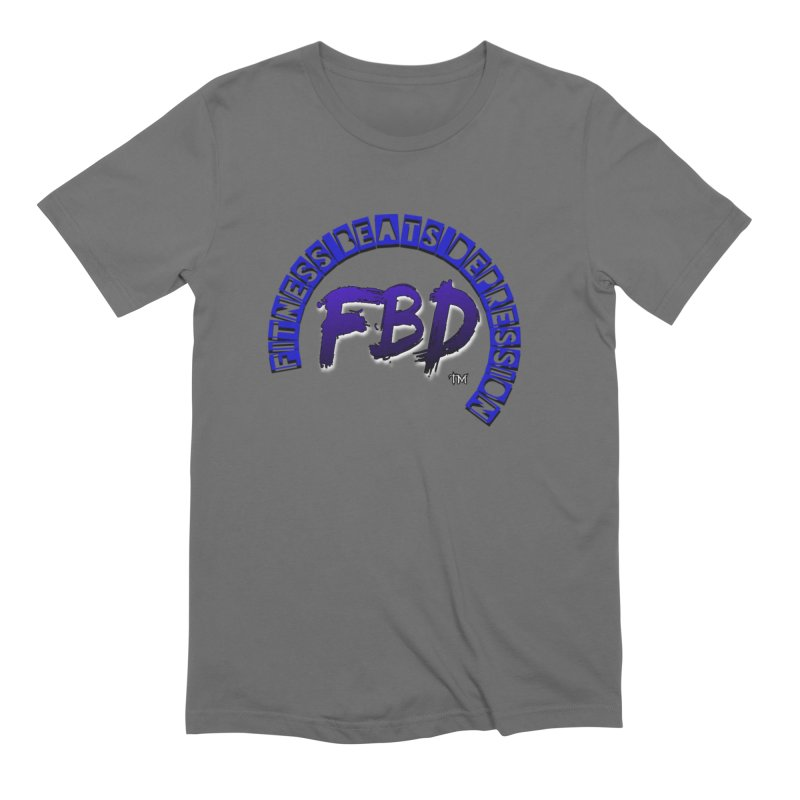 Fitness Beats Depression Men's T-Shirt by Faithful & Focused Store