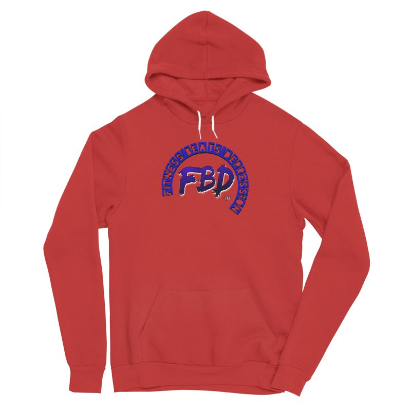 Fitness Beats Depression Men's Pullover Hoody by Faithful & Focused Store