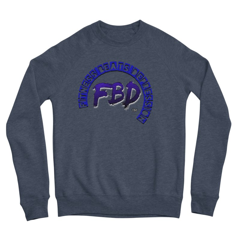 Fitness Beats Depression Women's Sweatshirt by Faithful & Focused Store