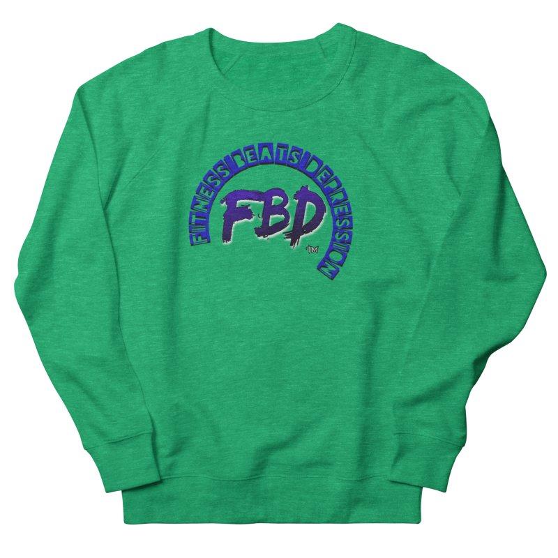 Fitness Beats Depression Men's Sweatshirt by Faithful & Focused Store