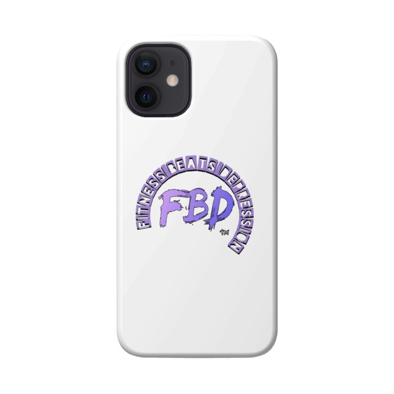 FITNESS BEATS DEPRESSION LAVENDER Accessories Phone Case by Faithful & Focused Store