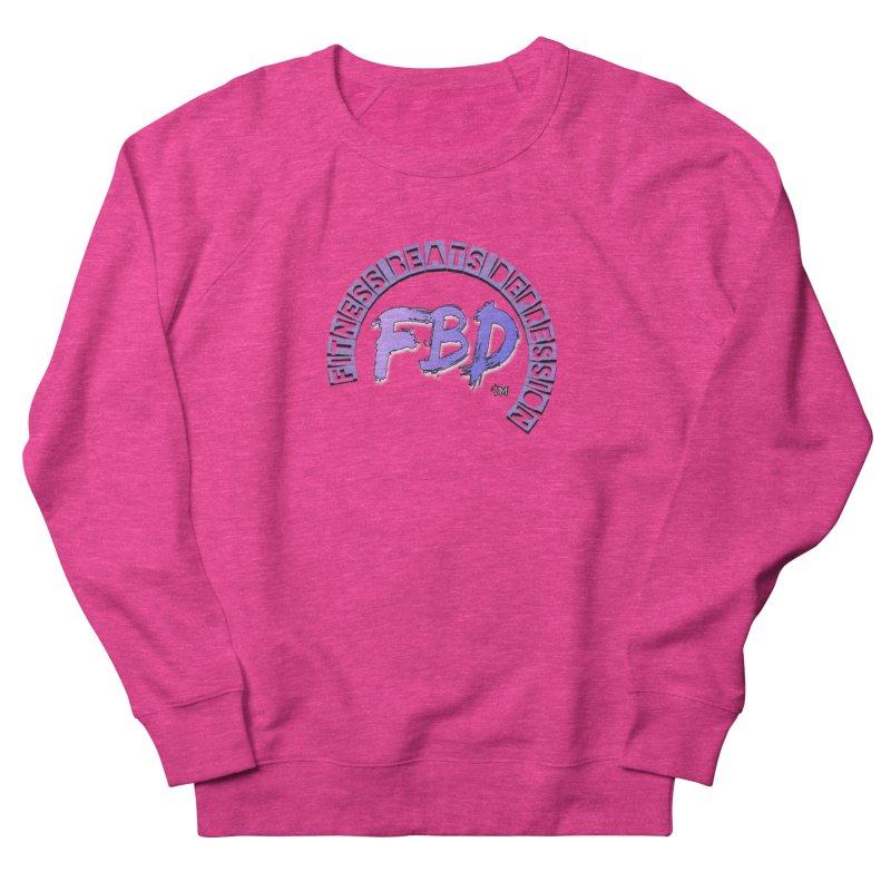 FITNESS BEATS DEPRESSION LAVENDER Women's Sweatshirt by Faithful & Focused Store