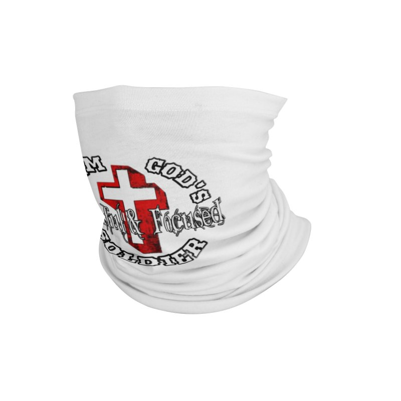 I AM GOD'S SOLDIER Accessories Neck Gaiter by Faithful & Focused Store