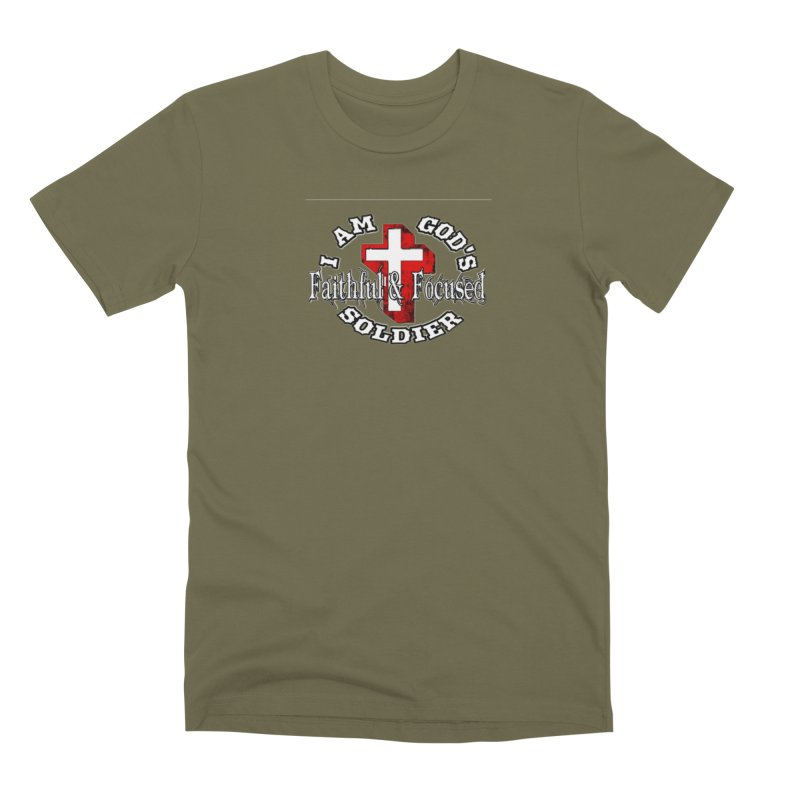 I AM GOD'S SOLDIER Men's T-Shirt by Faithful & Focused Store