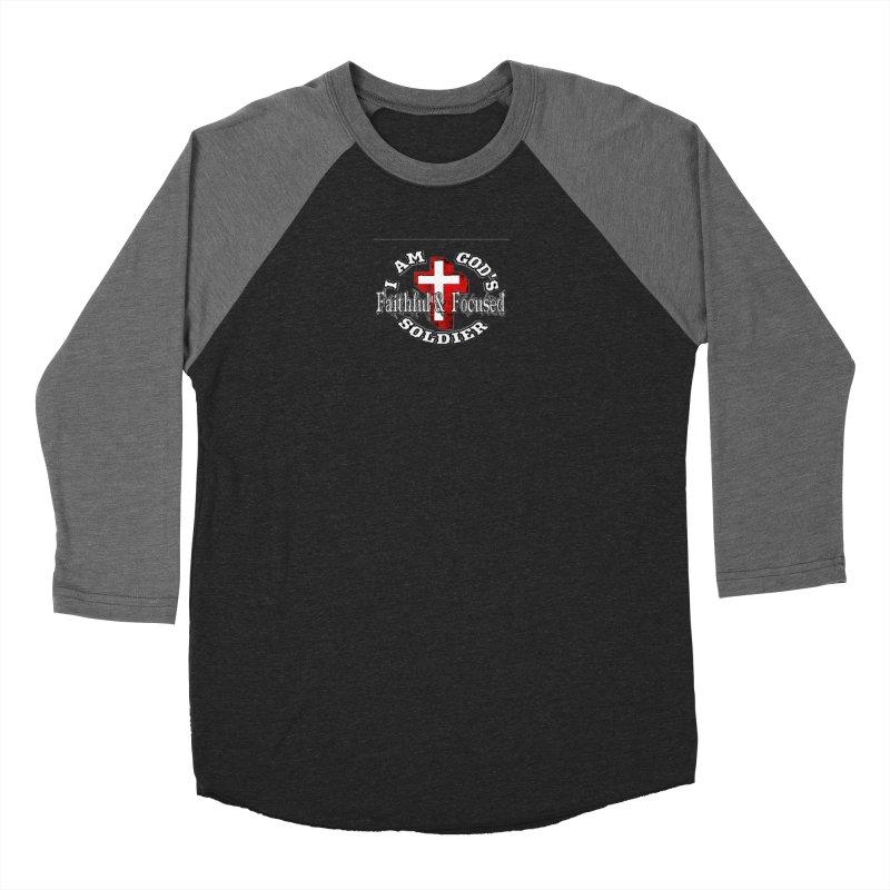 I AM GOD'S SOLDIER Men's Longsleeve T-Shirt by Faithful & Focused Store