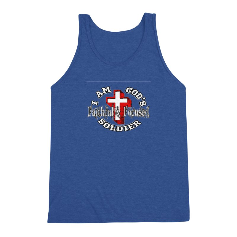 I AM GOD'S SOLDIER Men's Tank by Faithful & Focused Store