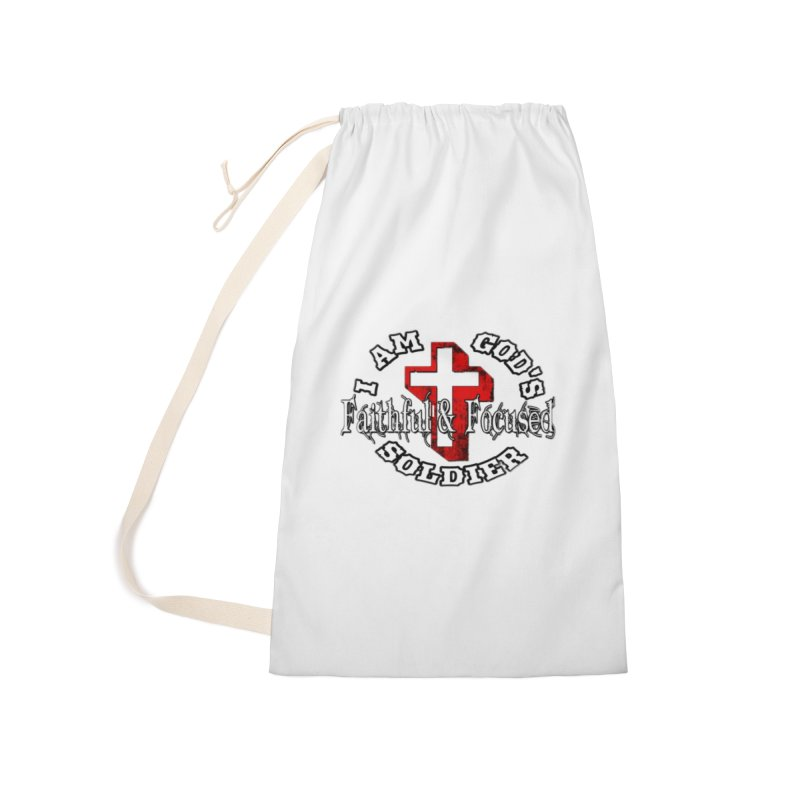 I AM GOD'S SOLDIER Accessories Bag by Faithful & Focused Store