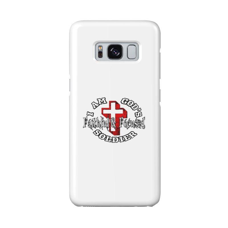 I AM GOD'S SOLDIER Accessories Phone Case by Faithful & Focused Store