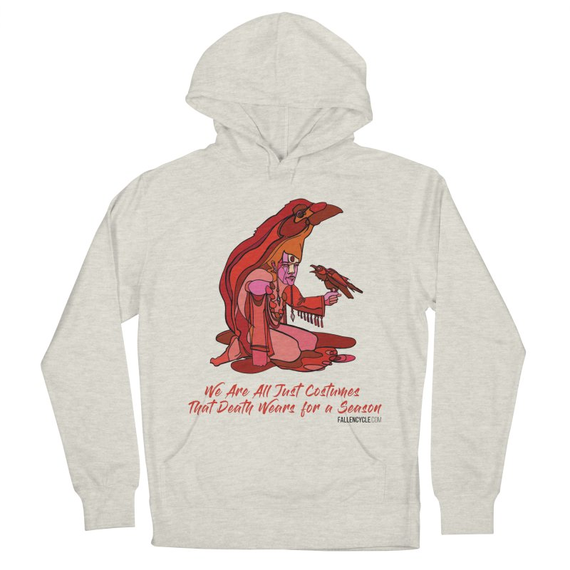 Eluane, the Raven Wanderer Women's French Terry Pullover Hoody by The Fallen Cycle: Merch